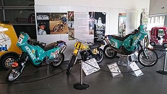 Andy Caldecott - The Andy Caldecott display at the National Motor Museum, Birdwood, South Australia