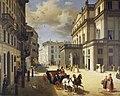 Angelo Inganni, la facciata del Teatro alla Scala, 1852.jpg