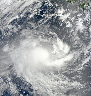 2010–11 Australian region cyclone season - Image: Anggrek 2 November 2010