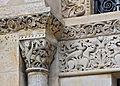 Angoulême Cathédrale chapiteau&frises entrée latérale sud 2013.jpg
