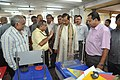 Anil Shrikrishna Manekar Explaining Portable Fun Science Exhibits To Mahesh Sharma - CRTL Workshop - NCSM - Kolkata 2017-07-11 3452.JPG