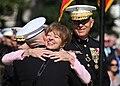 Annette Conway congratulates Gen. James F. Amos, 2010.jpg