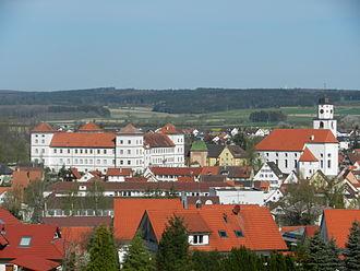 Meßkirch - Image: Ansicht Messkirch 2012