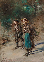 Anton Romako - Children with Brushwood - Google Art Project.jpg