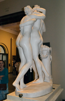 Antonio Canova (1757-1822) - The Three Graces, Woburn Abbey version (1814-1817) back right, Victoria and Albert Museum, August 2013 (11059732034).png