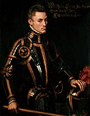 Full body portrait of William the Silent