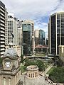 Anzac Square, Brisbane seen from L3 terrace, Sofitel Hotel 02.jpg