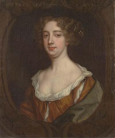 Aphra Behn, British playwright, poet, translator and fiction writer