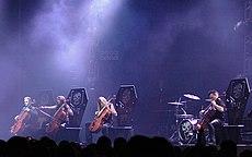 Apocalyptica en el festival Metalmania, 2005