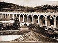 Aqueduto da Carioca Transformado em Viaduto para Bondes (Rio de Janeiro - Brasil) - 1896.jpg