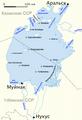 Aral sea map 1960 Rus.png