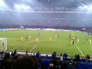 Revierderby - Borussia Dortmund against Schalke in 2009