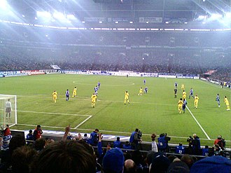 Bundesliga - Borussia Dortmund against rivals Schalke, known as the Revierderby, in the Bundesliga in 2009