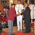 Arjuna Award conferred to Virender Singh.jpg