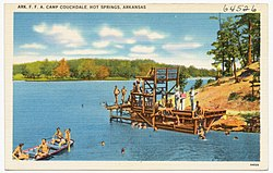 Ark. F.F.A. Camp Couchdale, Hot Springs, Arkansas (64526).jpg