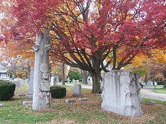 Arlington Cemetery (Pennsylvania) - Arlington Cemetery in autumn