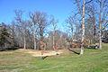 Arlington Woods behind Arlington House - looking N - Arlington National Cemetery - 2013-01-18.jpg