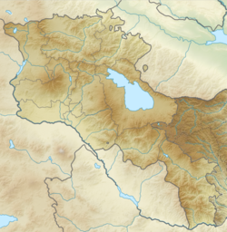 1988 Armenian earthquake is located in Armenia