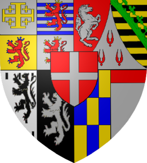 Charles Emmanuel II, Duke of Savoy - Coat of Arms of the Dukes of Savoy after Victor Amadeus I