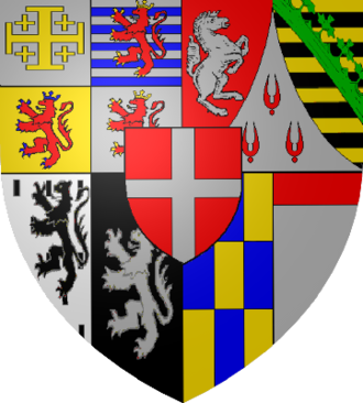 Victor Amadeus I, Duke of Savoy - Coat of Arms of the Dukes of Savoy after Victor Amadeus I.