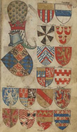 Armorial Bellenville folio 40