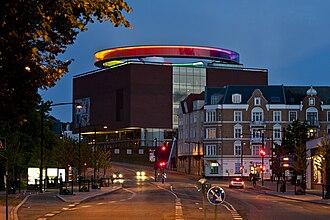 ARoS Aarhus Kunstmuseum - Image: Aros rainbow panorama (11834896846)