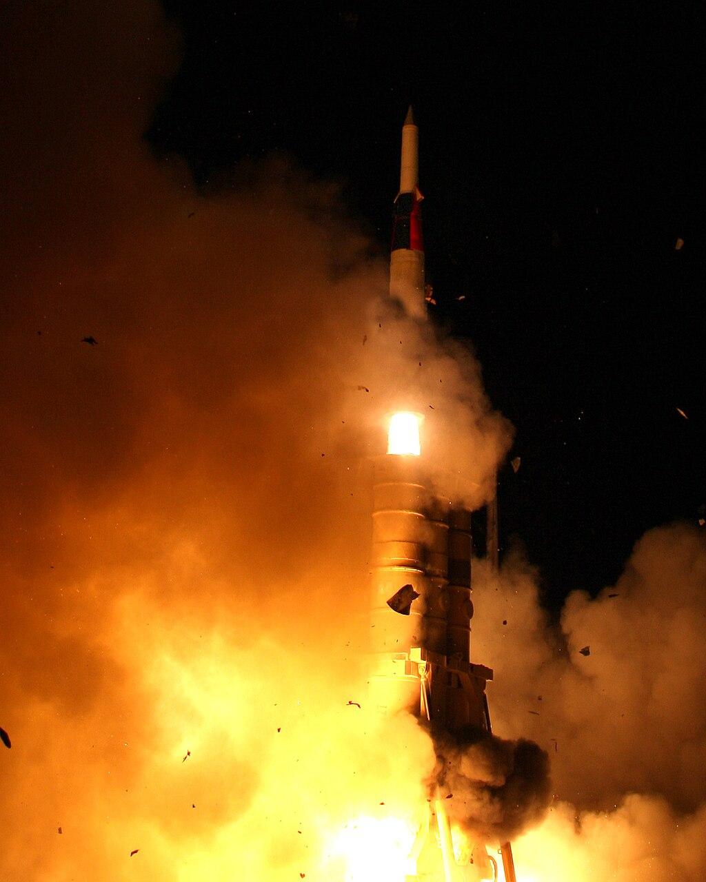 Arrow 2 launch in February 2011.