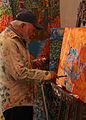 Artist R King Crawford at work A.jpg