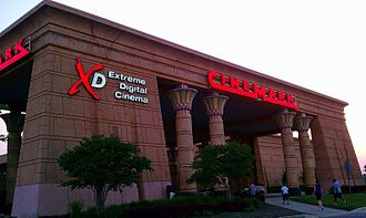 Arundel Mills - Cinemark Egyptian 24 Megaplex Theaters main entry