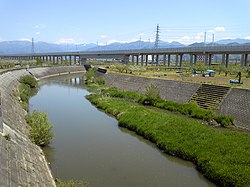 Asa River in Nagano Japan.jpg