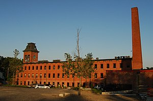 National Register of Historic Places listings in Worcester, Massachusetts - Image: Ashworth Jones Mill