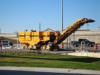Pavement milling - Asphalt Milling Machine