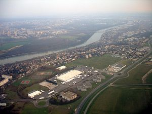 Athis-Mons - An aerial view of Athis-Mons
