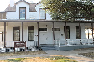 Laredo Community College - A former United States Army 1880s officers quarters at Fort McIntosh is now an athletic dormitory.