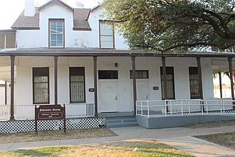 Laredo College - A former United States Army 1880s officers quarters at Fort McIntosh is now an athletic dormitory.