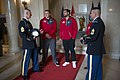 Atlanta Falcons Leadership and Players Lay a Wreath at the Tomb of the Unknown Soldier at Arlington National Cemetery (34506576594).jpg