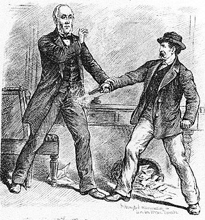 George Brown (Canadian politician) - Fatal shooting of George Brown, Toronto