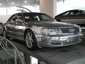 Audi A8 - Audi Space Frame Concept Car