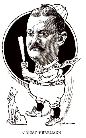 August Herrmann - August Herrmann circa 1905