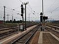 Ausfahrsignale Basel Badischer Bahnhof mit drei Zugbeeinflussungssystemen 20180603.jpg