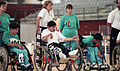 Australian athletes at 1992 Paralympics.jpg