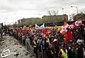 Avance hacia Plaza de Colón por Palomeras - IV - panoramio.jpg