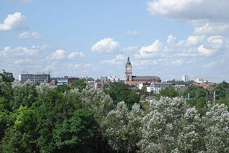Lens, Pas-de-Calais - Lens in late-July 2006