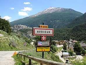 Avrieux town name plate.jpg