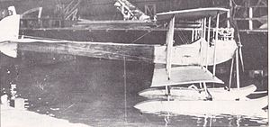 Avro Type D - An Avro Type D equipped as a floatplane. This particular aircraft made its first flight on 18 November 1911.