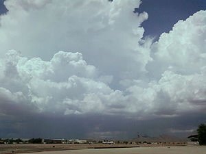 az monsoon clouds