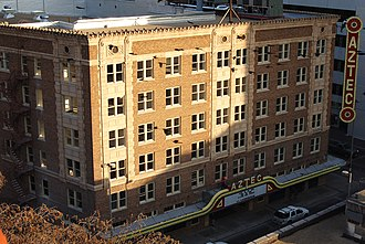Aztec Theatre (San Antonio) - Aztec On The River Theater