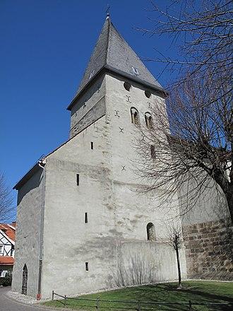 Bönen - Image: Bönen, die Alte Kirche foto 1 2012 03 25 13.36