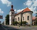 Bělá pod Bezdězem - kostel sv. Václava od jihovýchodu.jpg