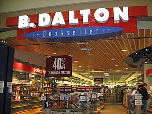 B. Dalton - A B. Dalton store in Slidell, Louisiana, a few weeks before it closed